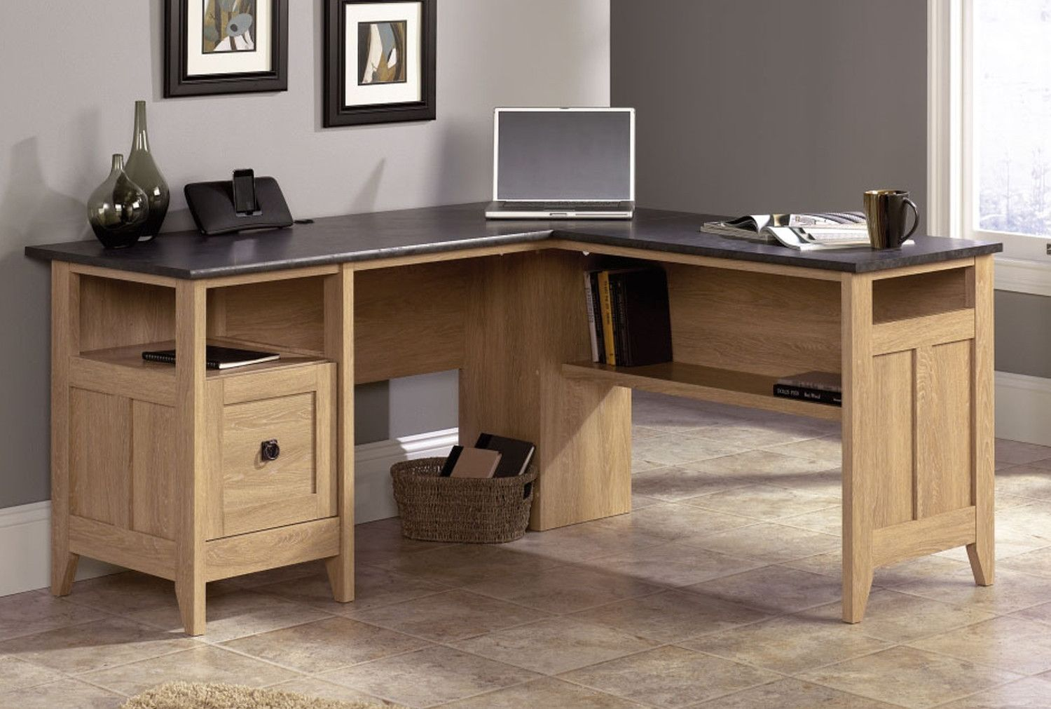 Portal L Shaped Workstation Furniture At Work® in 2020