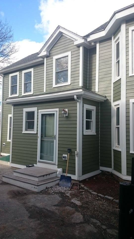 The Owner Originally Sought Help For A Partial Siding Job The House Had Asbestos Siding And L Remodeling Contractors Curb Appeal James Hardie Siding