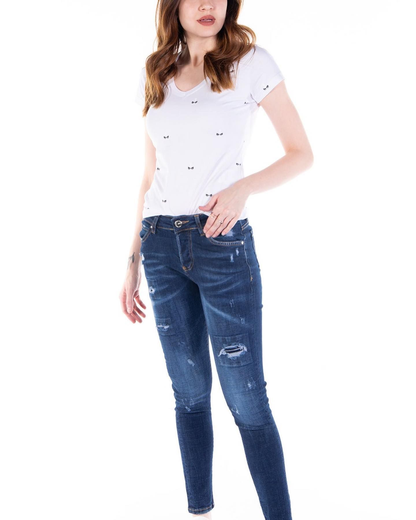 Viking Jeans Woman Panosundaki Pin