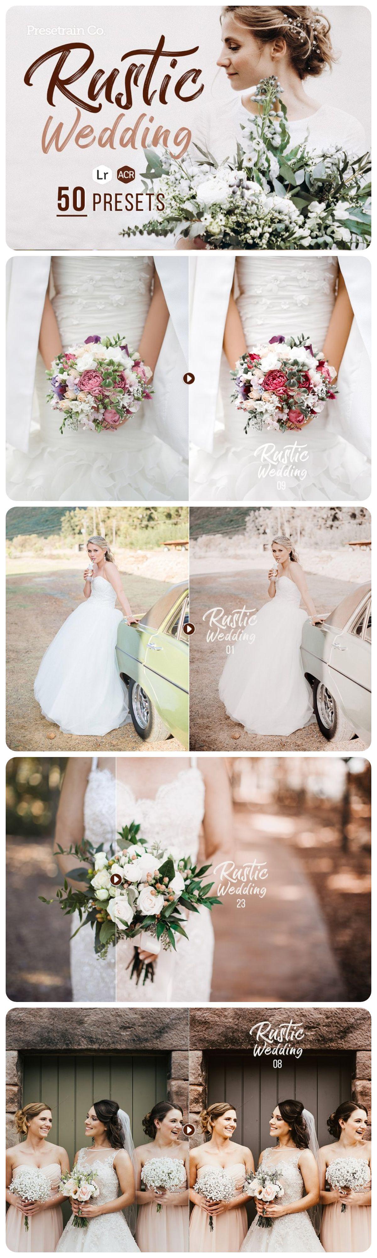 26 Rich&Moody Wedding presets for desktop Lightroom Marriage Boho ...