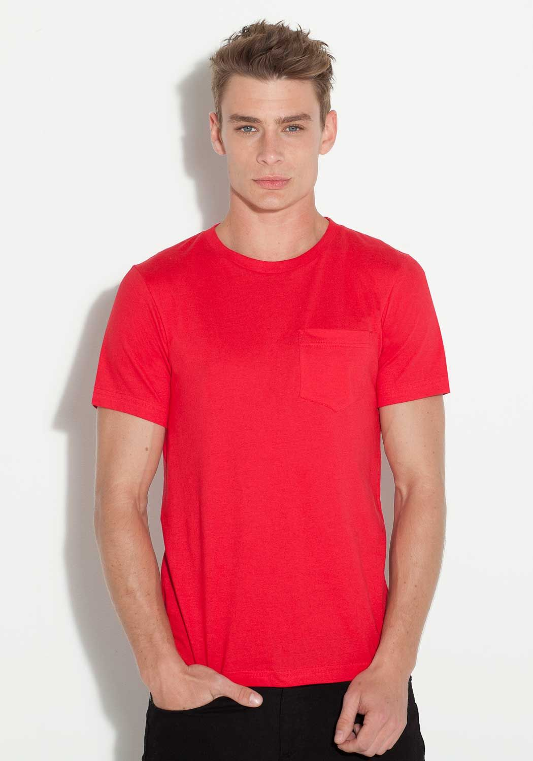 Active wear and casual clothing for men jersey pocket tee stylin