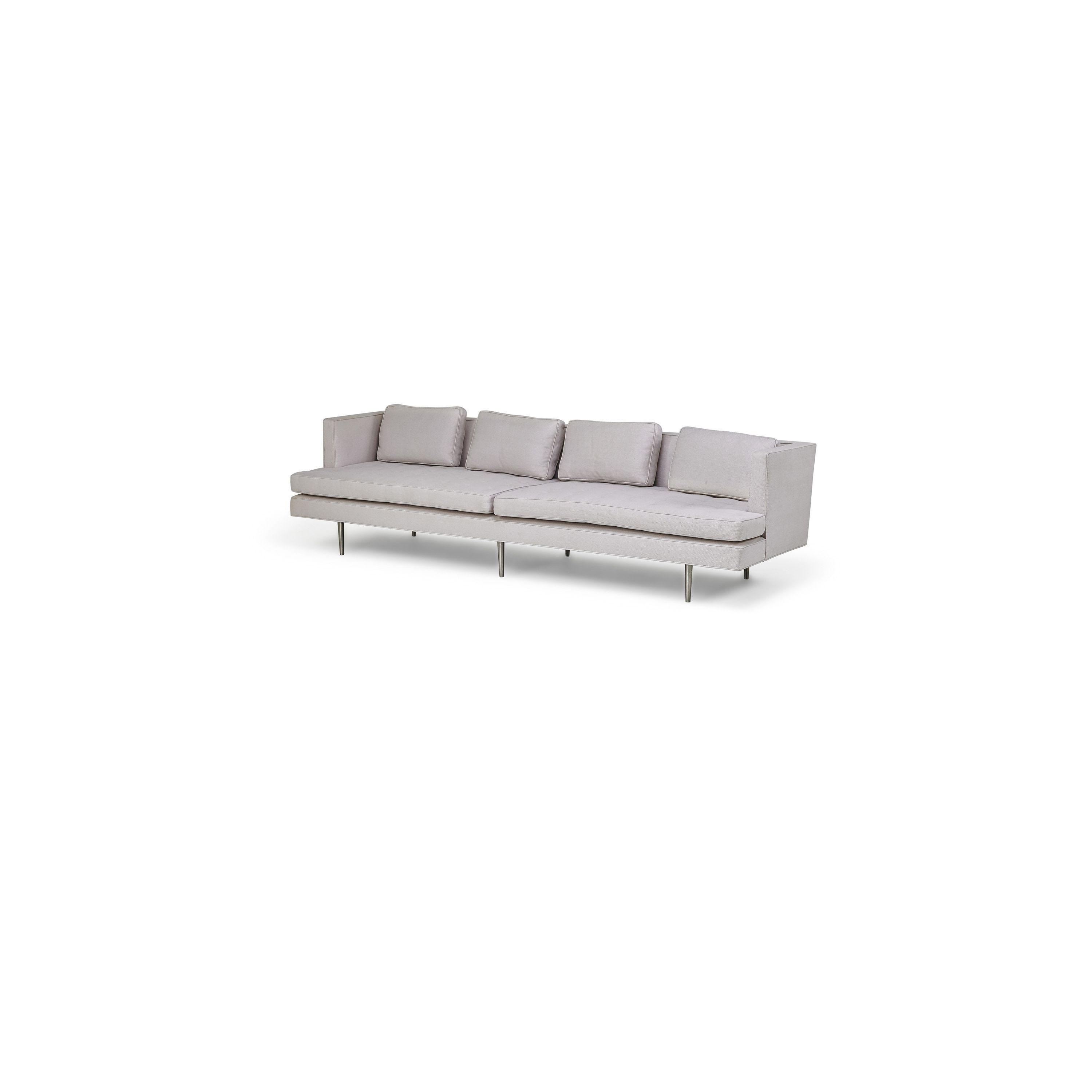 Edward Wormley   Sofa (no. 4907A), Brushed.