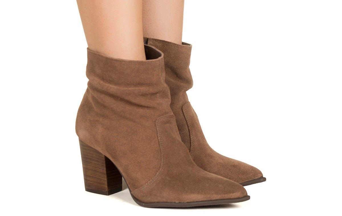 563f130c56e Bota marrom bico fino Taquilla - Taquilla - Loja online de sapatos femininos