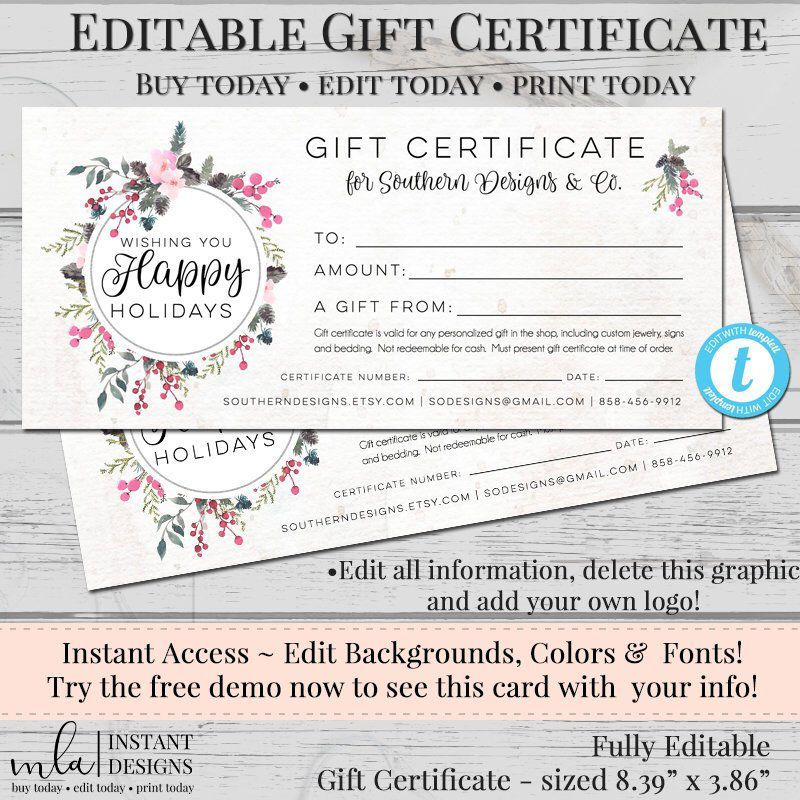 Gift Cert Template from i.pinimg.com