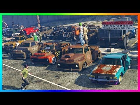 Awesome Gta Online Low Life No Money Special Best Free Vehicles Rare Rusty Gta 5 Cars Secret Spots Gta Gta 5 Gta Online