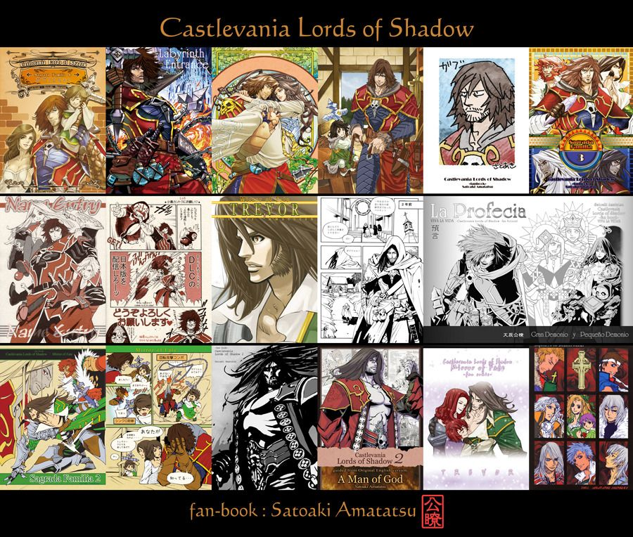 fan book / Start the Doujinshi-Mail order [Castlevania Lords of Shadow] by Satoaki Amatatsu I made the site for Doujinshi-Mail order. You will find some of CLOS fan-books and other my books in there. If you have interest to my doujinshi please...