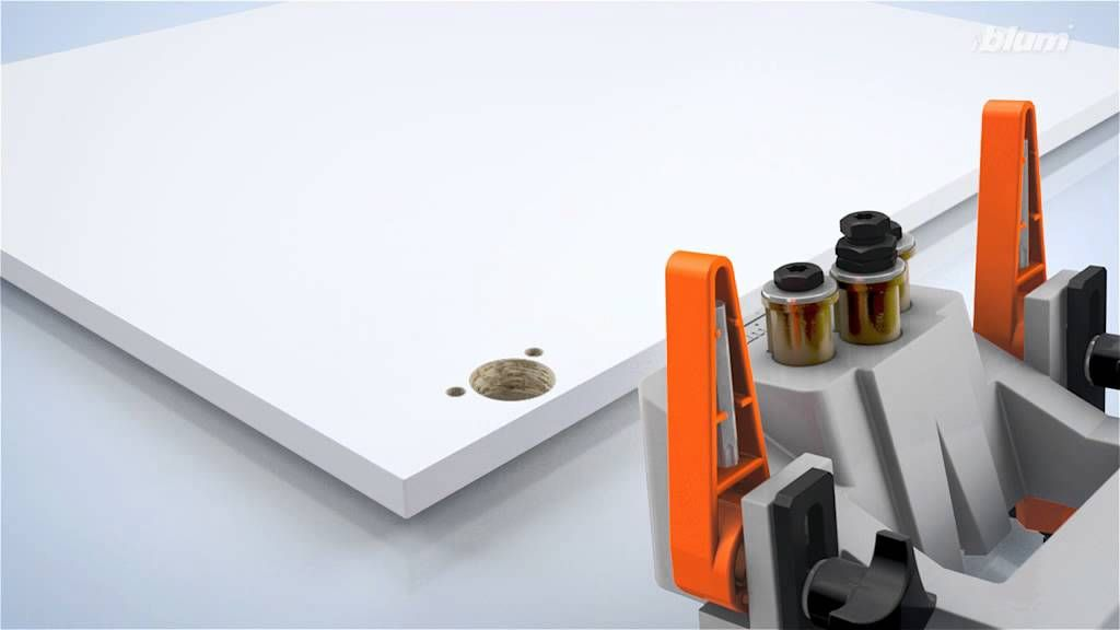 Blum-Ecodrill Drilling template for Euro Cabinets (32mm) | Kitchen ...