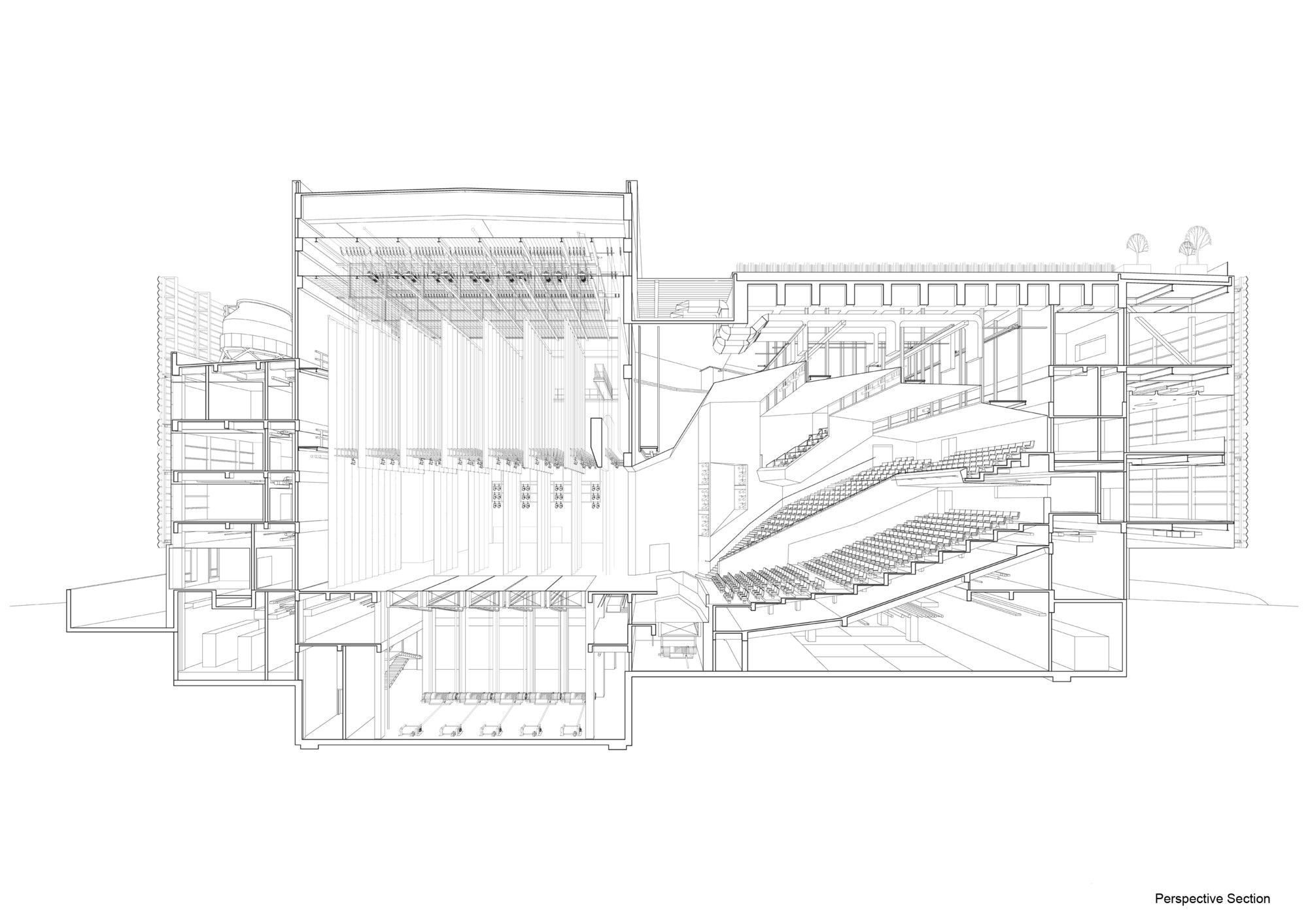 Gallery of Construction Begins on OPEN's Pingshan Performing Arts Center in Shenzhen - 16