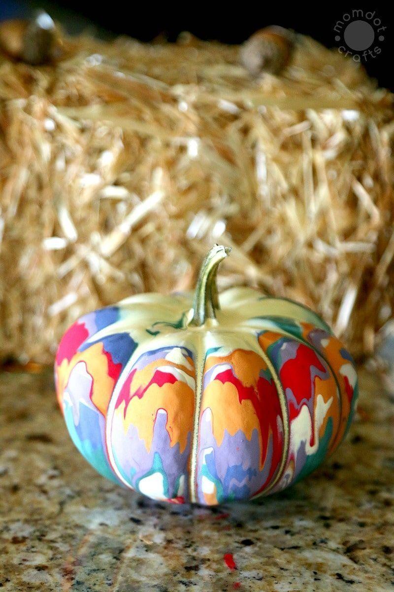 9 einfache Kürbismalideen für den Herbst #Kürbismalideen 9 einfache Kürbismalideen für den He... #pumpkinpaintingideas
