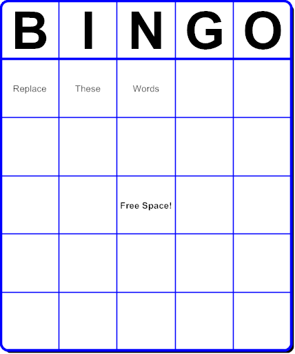 Create Your Own Bingo Cards With Pictures For Free Best