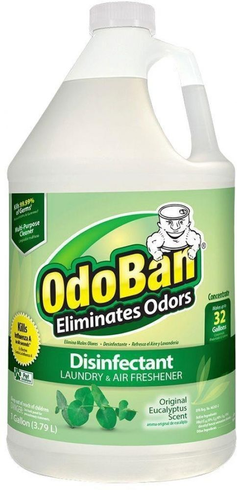 Odoban 1 Gal Eucalyptus Odor Eliminator Cleaner Concentrate Case Of 4