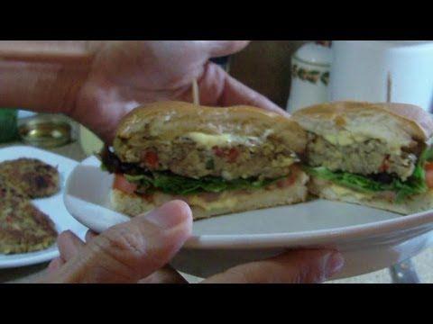 Mimi Kirk's Raw Veggie Patty - YouTube
