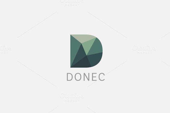 Polygon letter D logo Colorful font Fonts, Logos and Logo design - new zulu formal letter format
