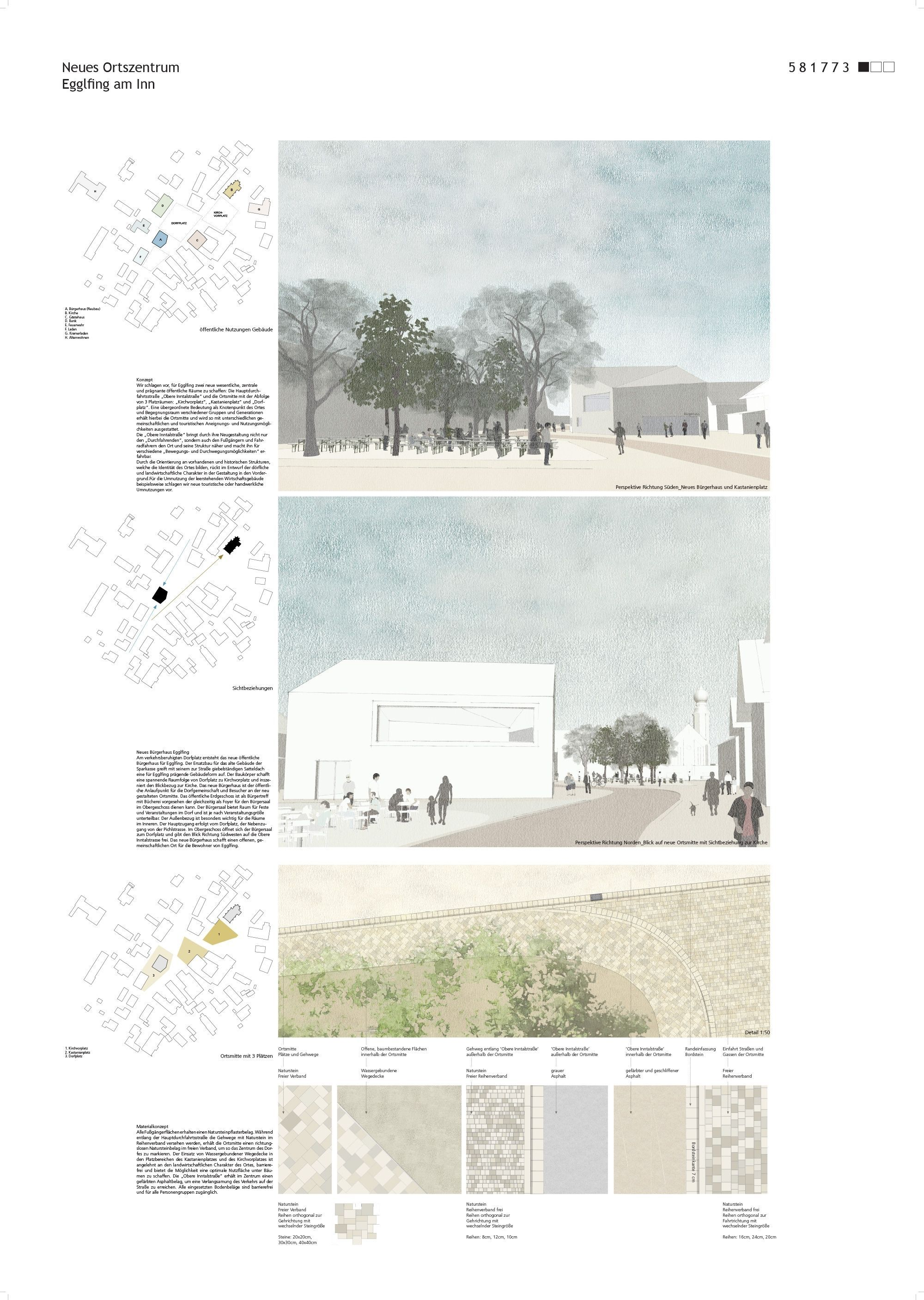 Result Creative Appreciation Of The Town Center Competitionline In 2020 Landscape And Urbanism Architecture Architecture Portfolio Layout Architecture