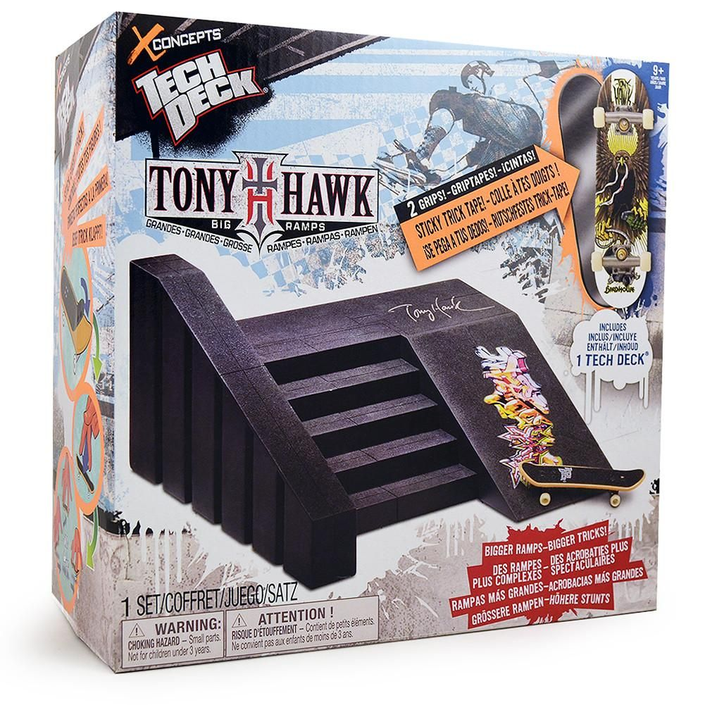 Tech Deck Tony Hawk Big Ramps Stairs [Birdhouse Board