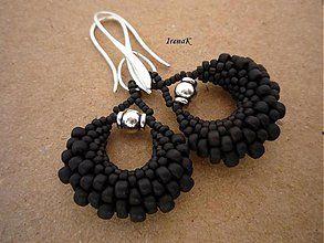 8f9dc191f Taštička čierna II / IrenaK   Bead Weaving   Beaded jewelry, Jewelry ...