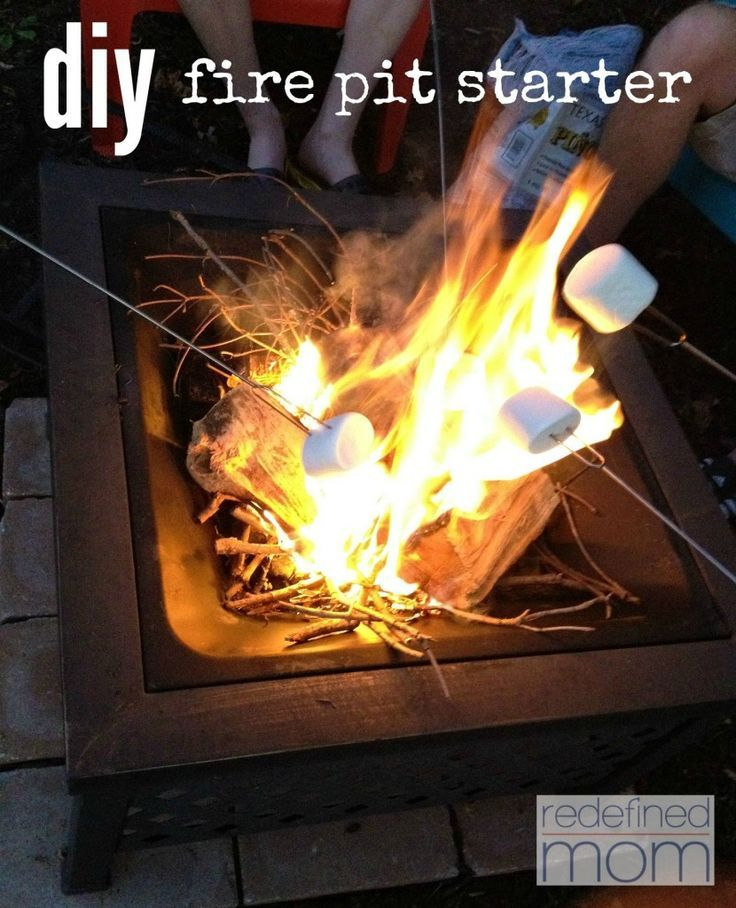 how to make a fire with a fire starter