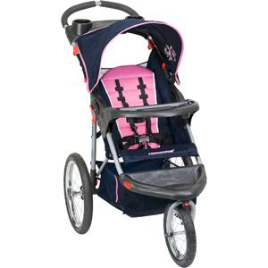 Baby Trend Expedition Jogging Stroller, Hanna...want this with the matching carseat! Its pink and navy blue! Too cute! and perfect for soccer games and tball games!