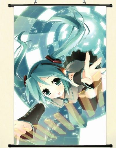 Hatsune Miku cherry blossoms B2 Tapestry Wall Scroll poster anime From JAPAN