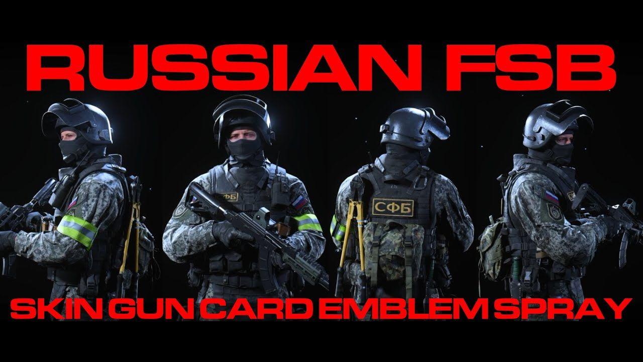 Brand New Russian Fsb Call Of Duty Modern Warfare Warzone Modern Warfare Call Of Duty Modern Warfare Warzone Call Of Duty
