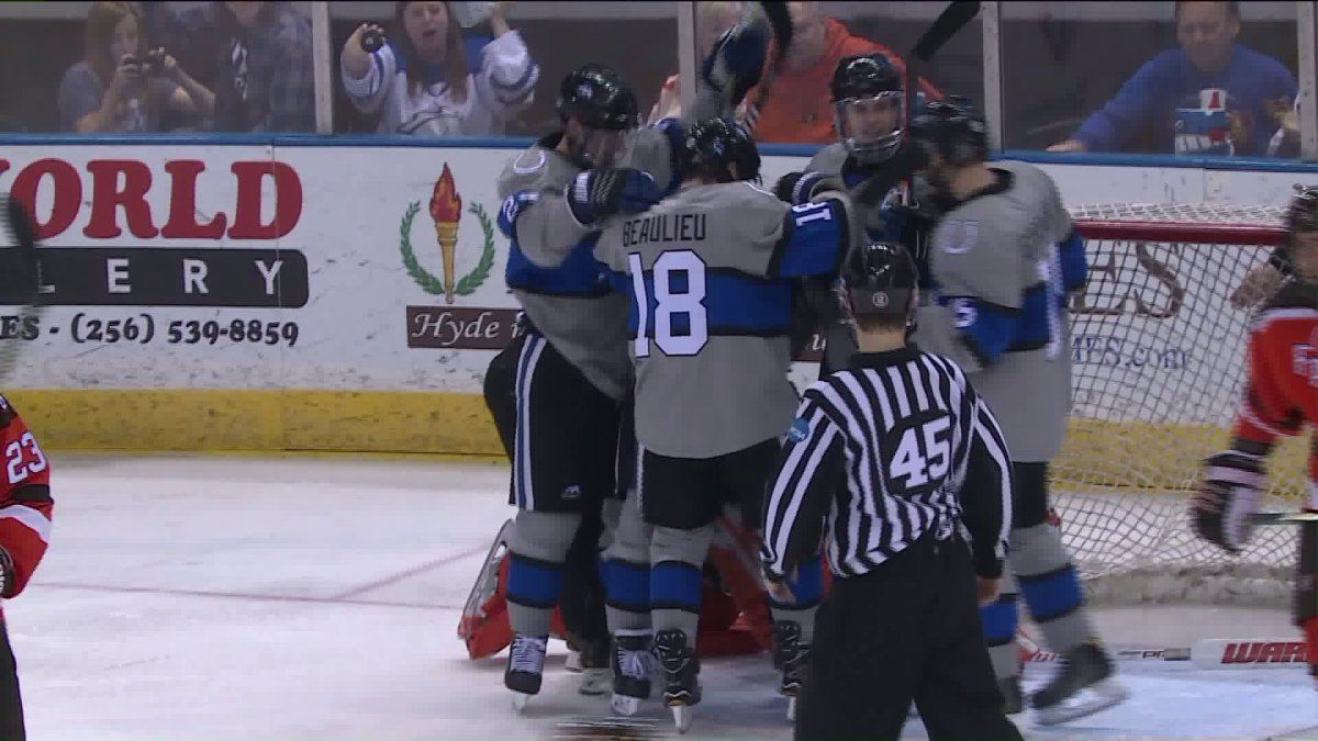 UAH hockey earns playoff berth with big win on Friday