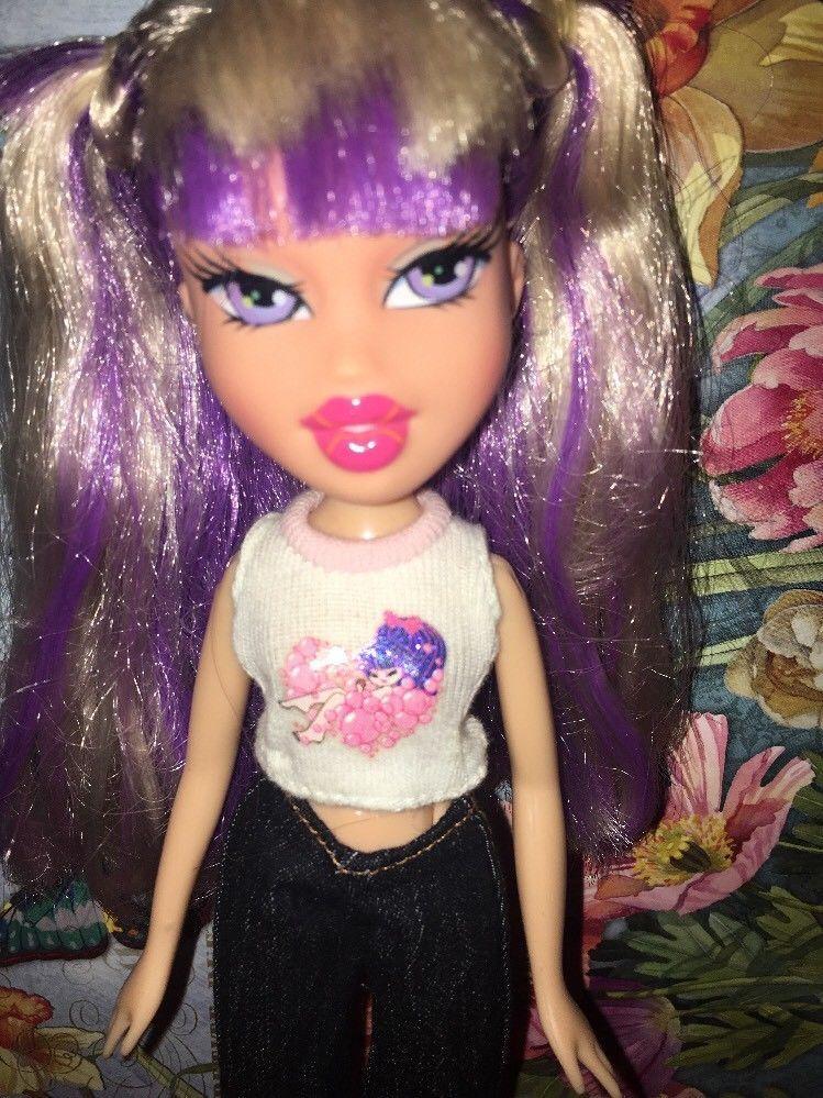 Bratz Doll Dana White And Purple Hair Ebay Bratz Doll Dana White Purple Hair