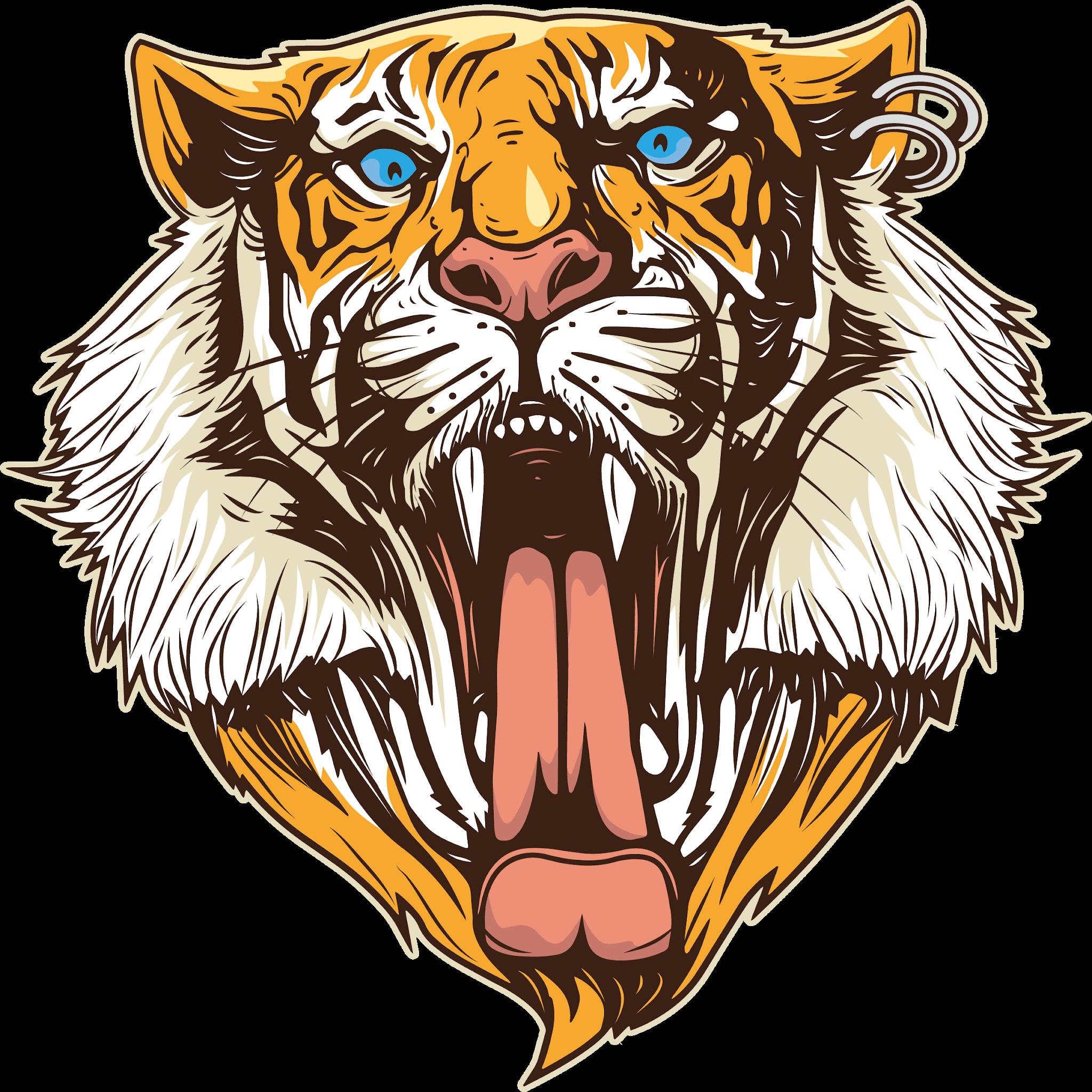 Tiger Png Logo Tiger Free Png Images Hewan