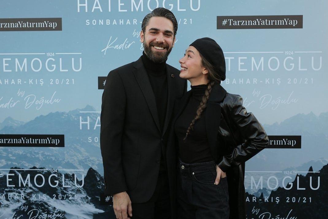 Neslihanatagul Neslihanatagul Kadirdogulu Kadirdogulu Nermac Neskad Tarzinayatirimyap Hatemoglubykadirdogulu Best Couple Instagram Actors