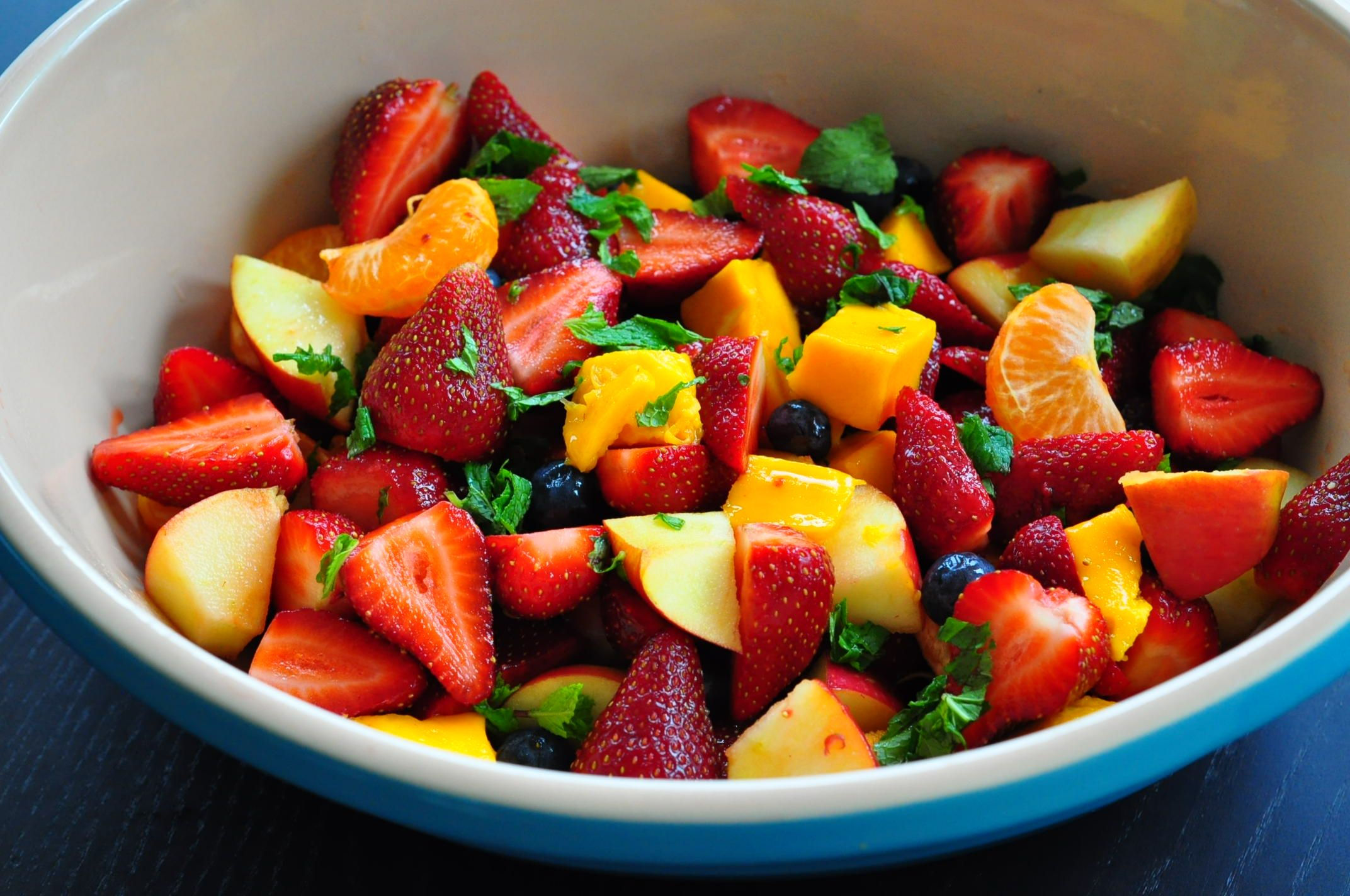 fruit salad (site has other yummy ideas too)