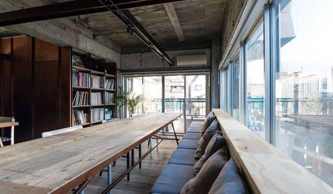 Suppose Design Office 建築家の谷尻 誠と吉田 愛がリノベした東京新