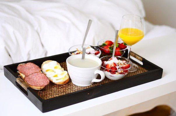 Днем рождения, гифка завтрак для любимого