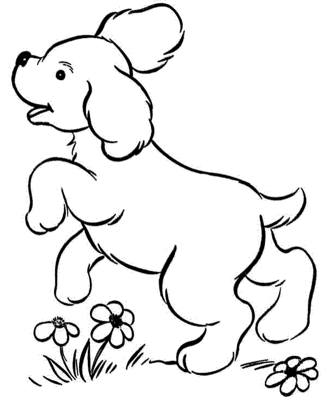 realistic-dog-coloring-pages | Puppy coloring pages, Cute ...