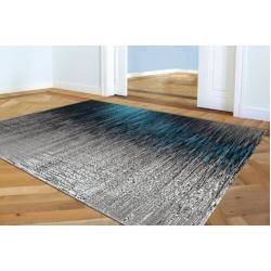 Photo of Flachgewebe-Teppich Mehl in Grau/Blau Brayden StudioBrayden Studio