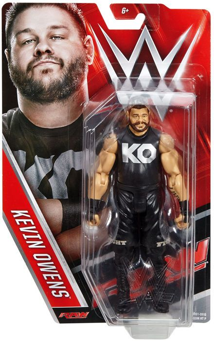 WWE Kevin Owens Action Figure Basic Series 73 Mattel Toy New