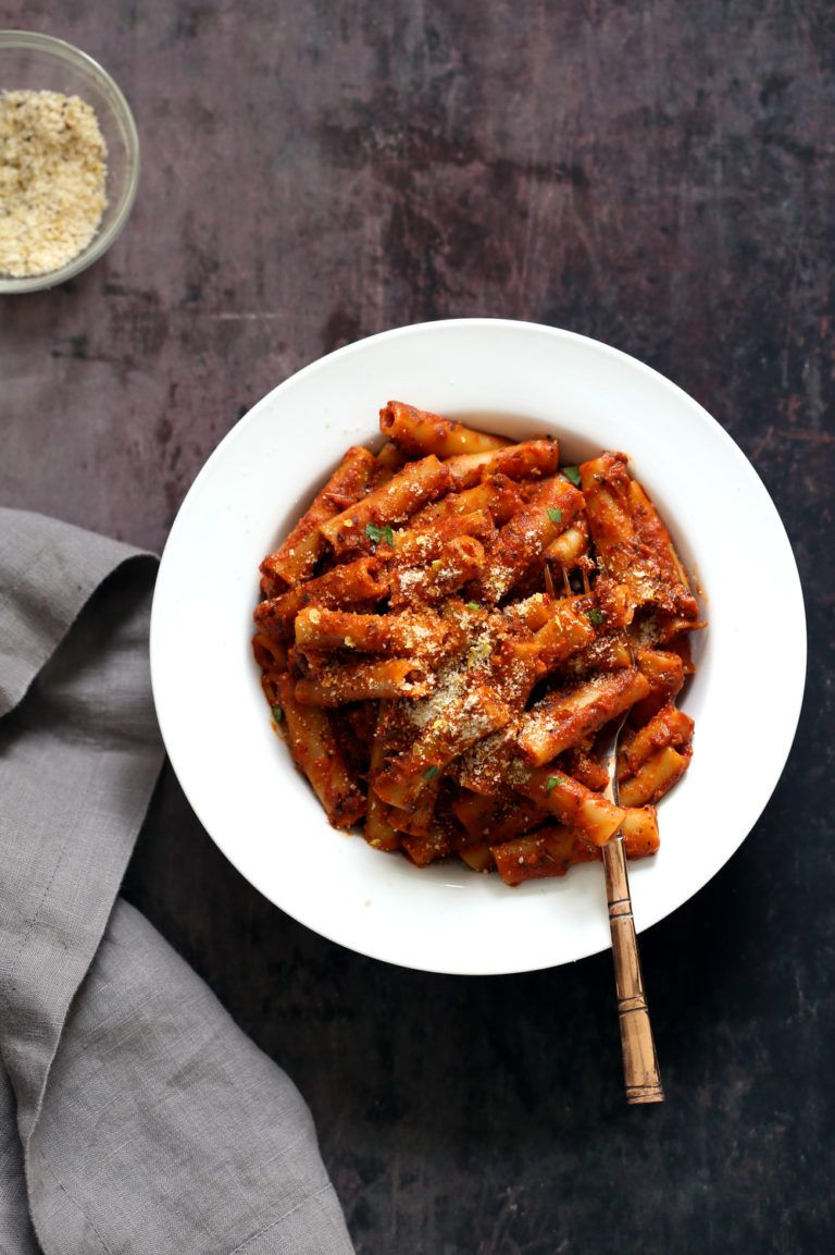 Instant Pot Ziti With Tomato Sauce 20 Mins Vegan Richa Recipe In 2020 Quick Pasta Recipes Easy Pasta Vegan Recipes Easy