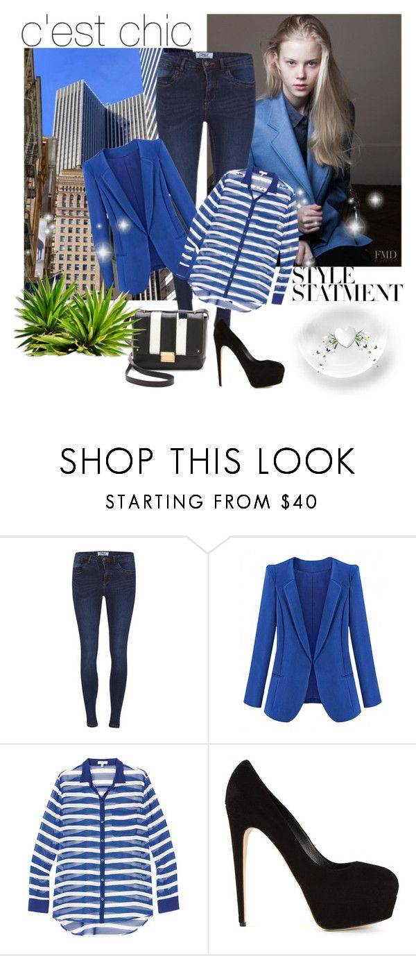 """Bez naslova #41"" by cupogrady ❤ liked on Polyvore featuring ONLY and Brian Atwood"