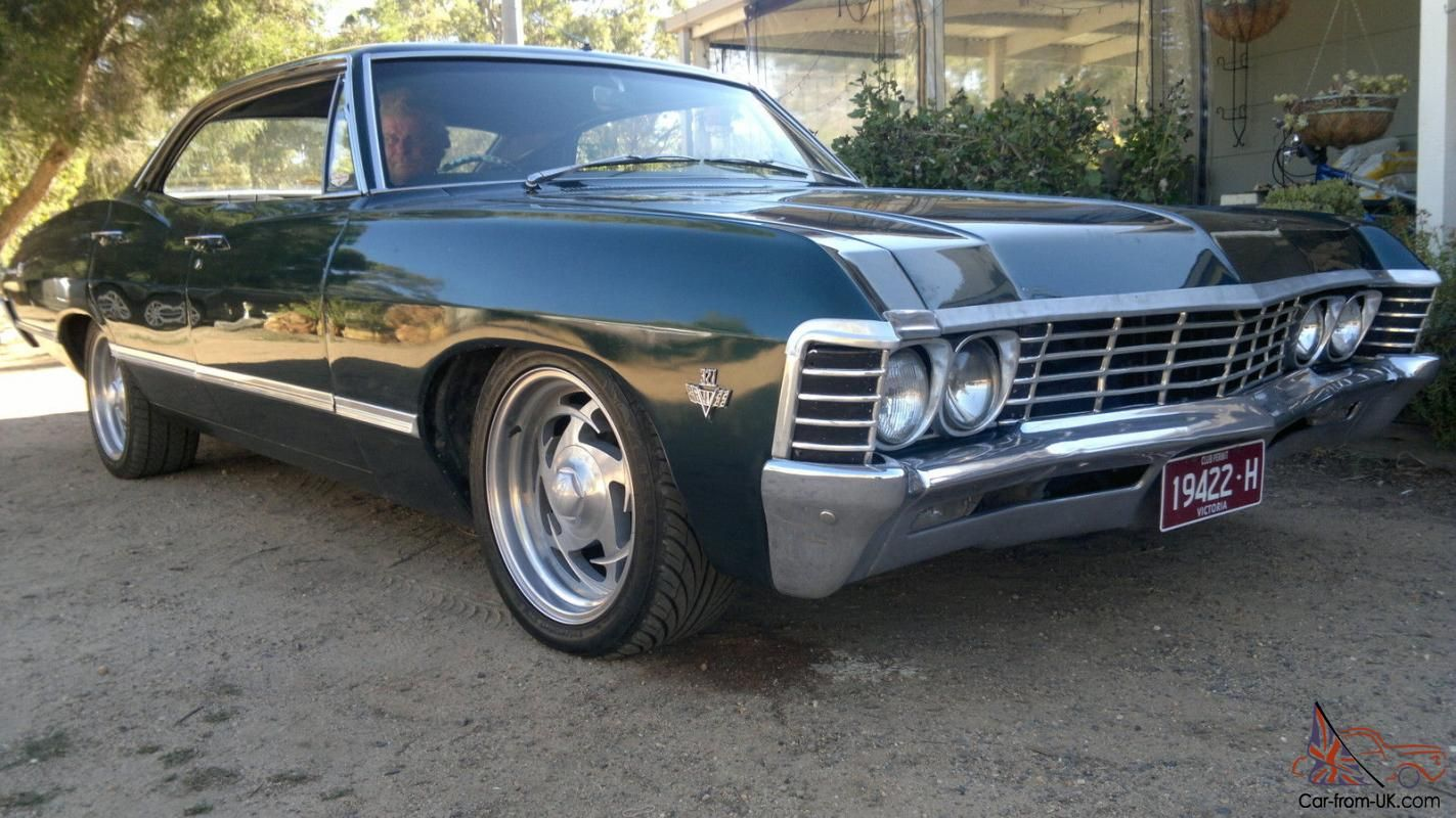 Pin by Marc-André Landry on [Vehicle] - Car_Impala Chevy 67 ...