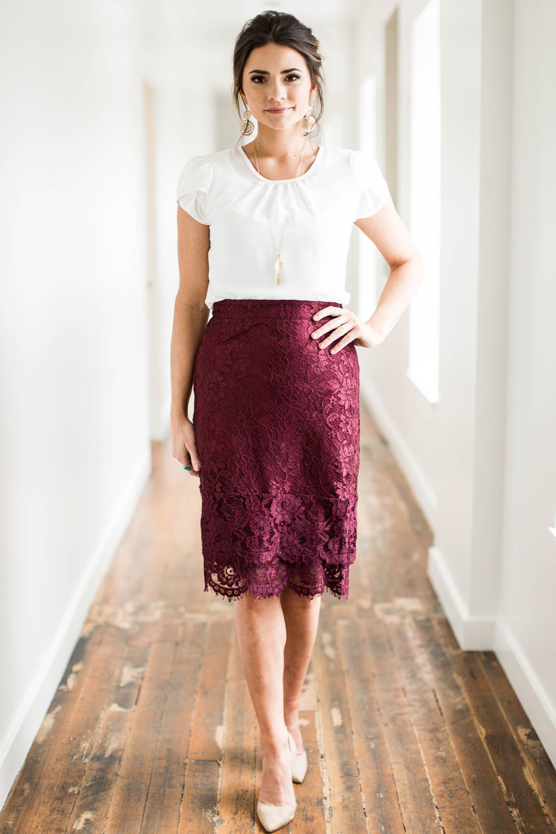 Elegant Classy These Lace Skirts Are Gorgeous Great Choice