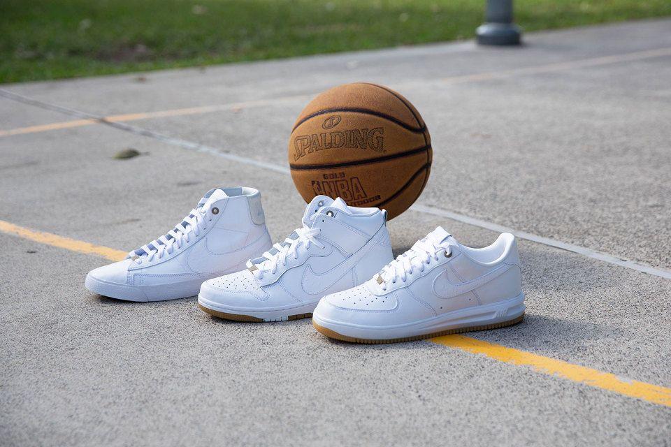 new product 3988a 02186 Nike présente son nouveau White Pack de printemps. Ces mythiques Dunk,  Lunar Force 1 et Blazer au goût du jour !