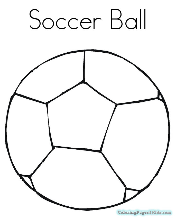 Coloring Cartoon Pages Soccer Ball Coloring Pages For Kids Sports Coloring Pages Soccer Ball Soccer