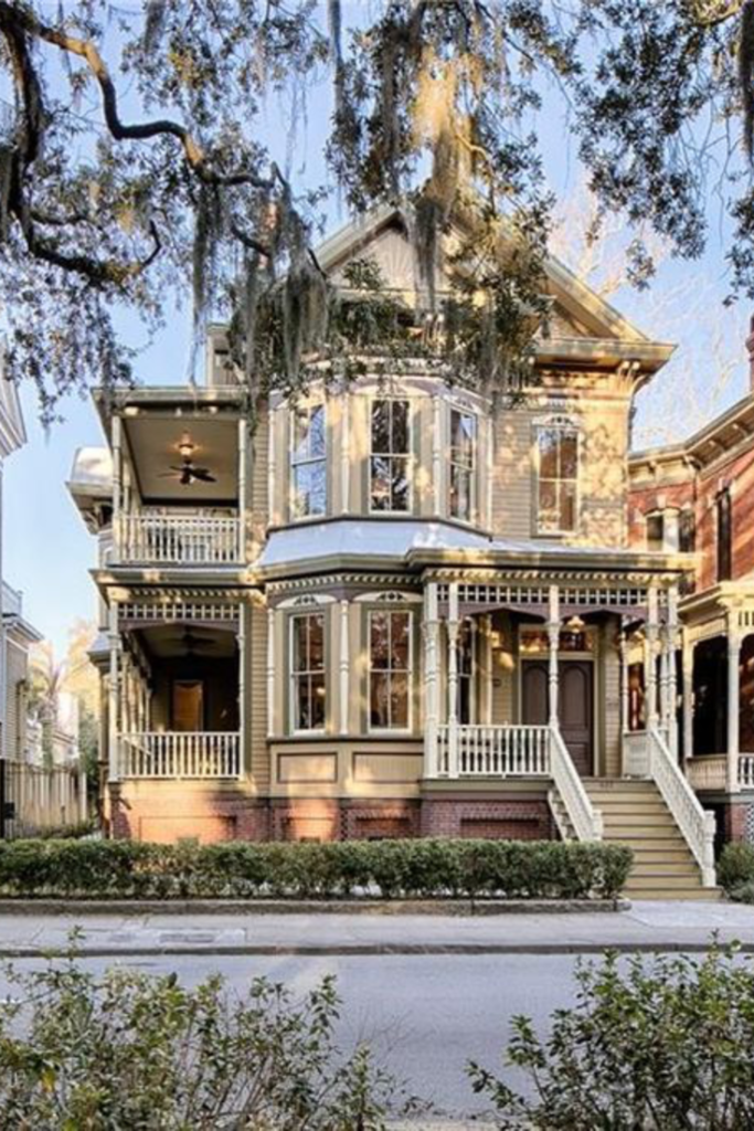 1895 Crowther Mansion For Sale In Savannah Georgia #beautifulhomes