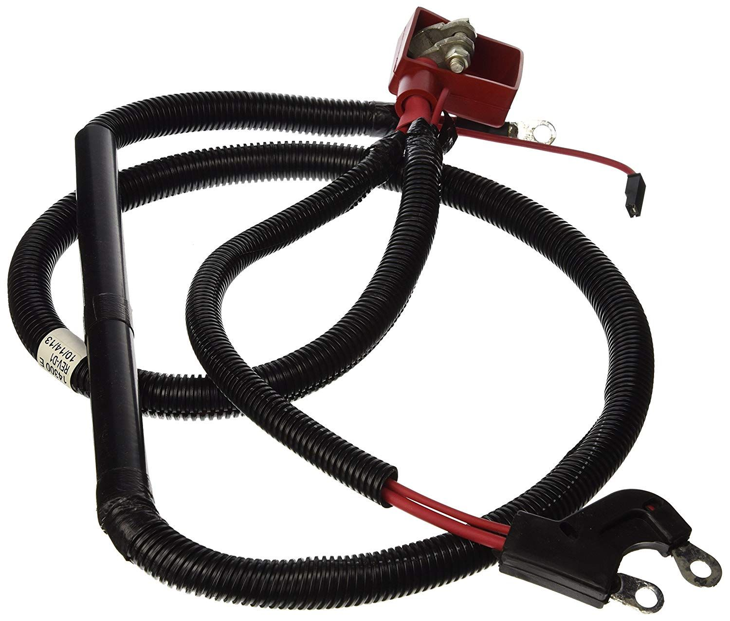 Cartman 4AWG 18-Inch Battery Inverter Cables Set 4Gauge x 18 1 Black /& 1 Red