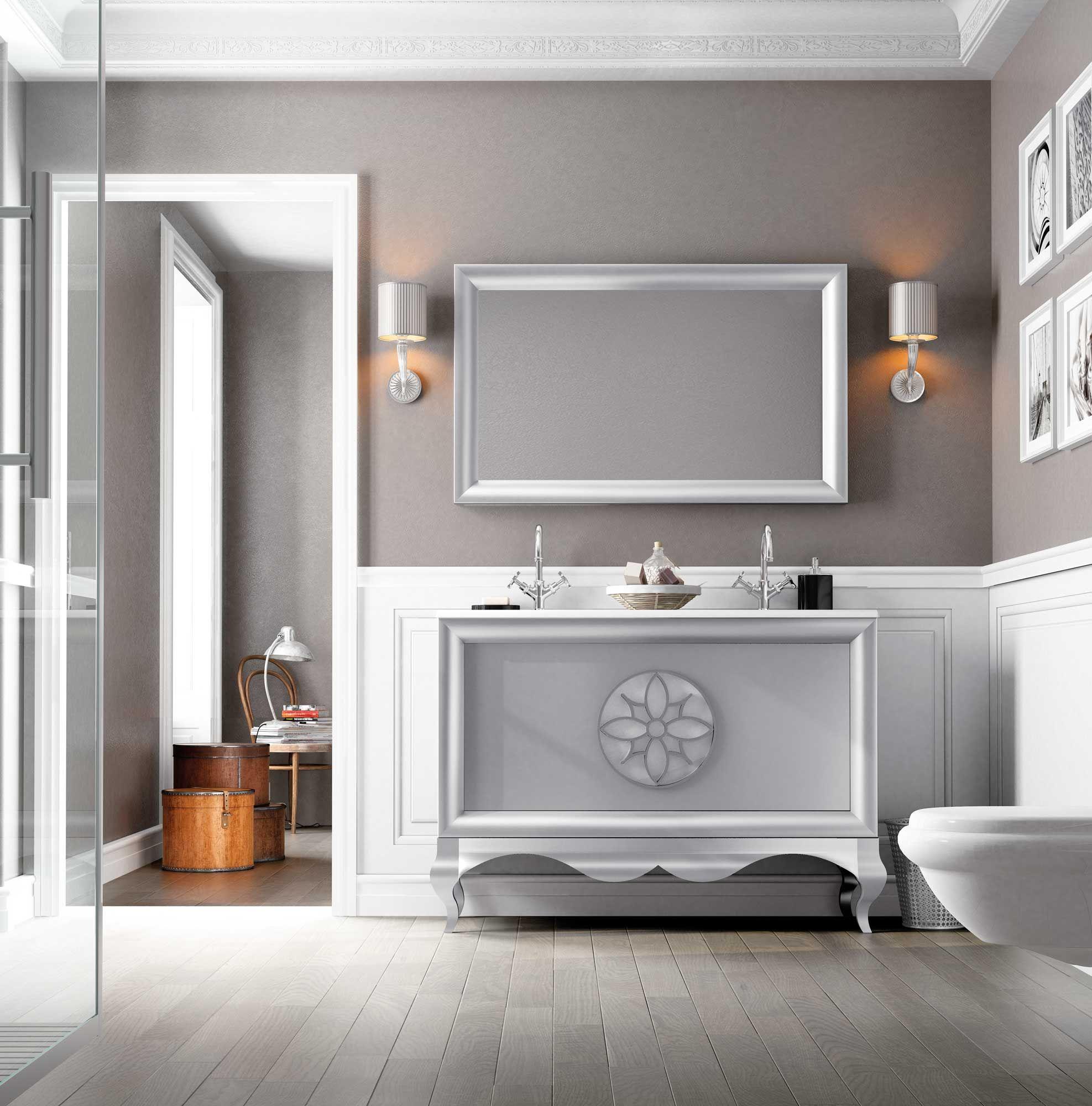 Muebles de baño de diseño singular, de alta gama con un ...