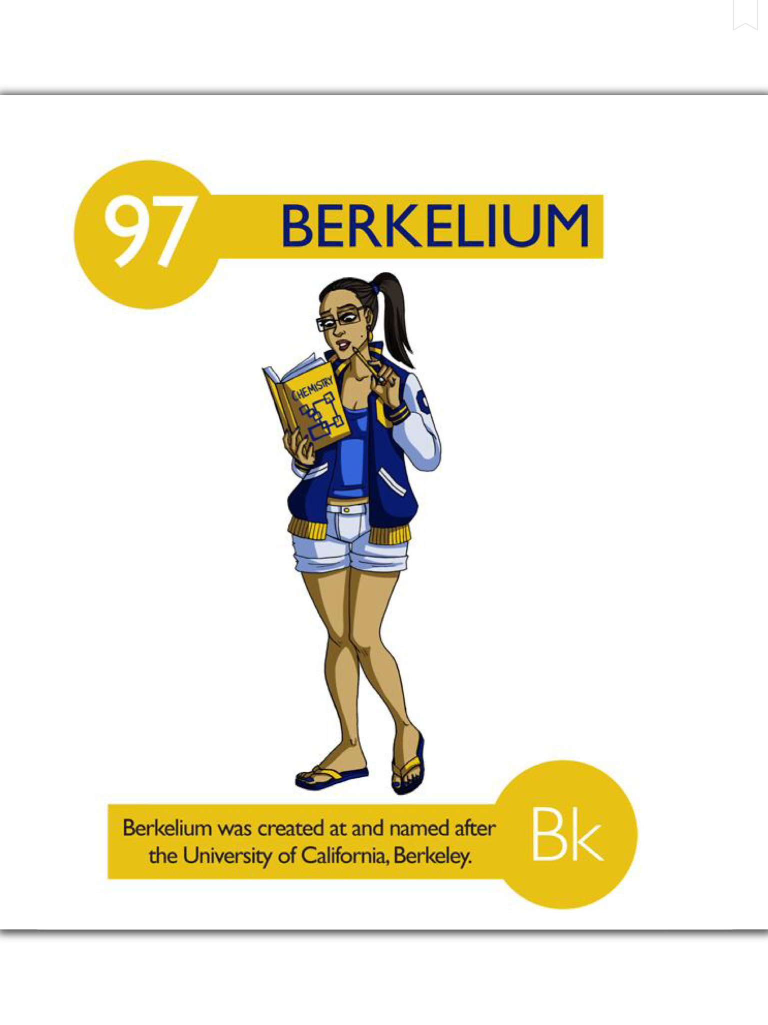 Pin by science science science on awesome chemistry resources 112 cartoon elements make learning the periodic table fun berkelium gamestrikefo Gallery