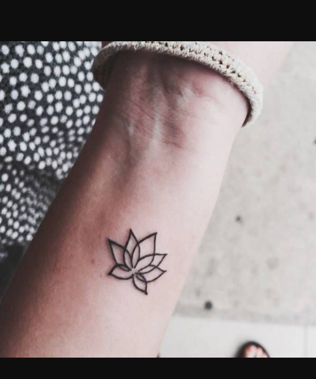 Pin by andrea johnson on body art pinterest lotus tattoo and tatoos small wrist tattoo of a lotus flower on amina izmirmasajfo Gallery