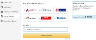 Telangana Electricity Bill Online Payment How To Check Online Status In 2020 Online Checks Electricity Bill Online Payment