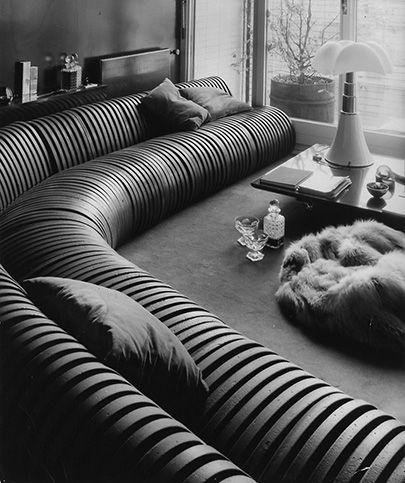 Divano Serpentone Cini Boeri Furniture Design Sofa Modular Table