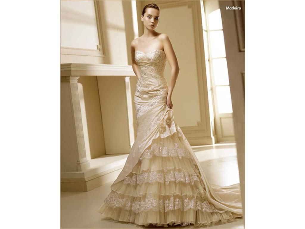 La Sposa Madeira Wedding Gown. | Available at Emelina\'s Bridal in ...