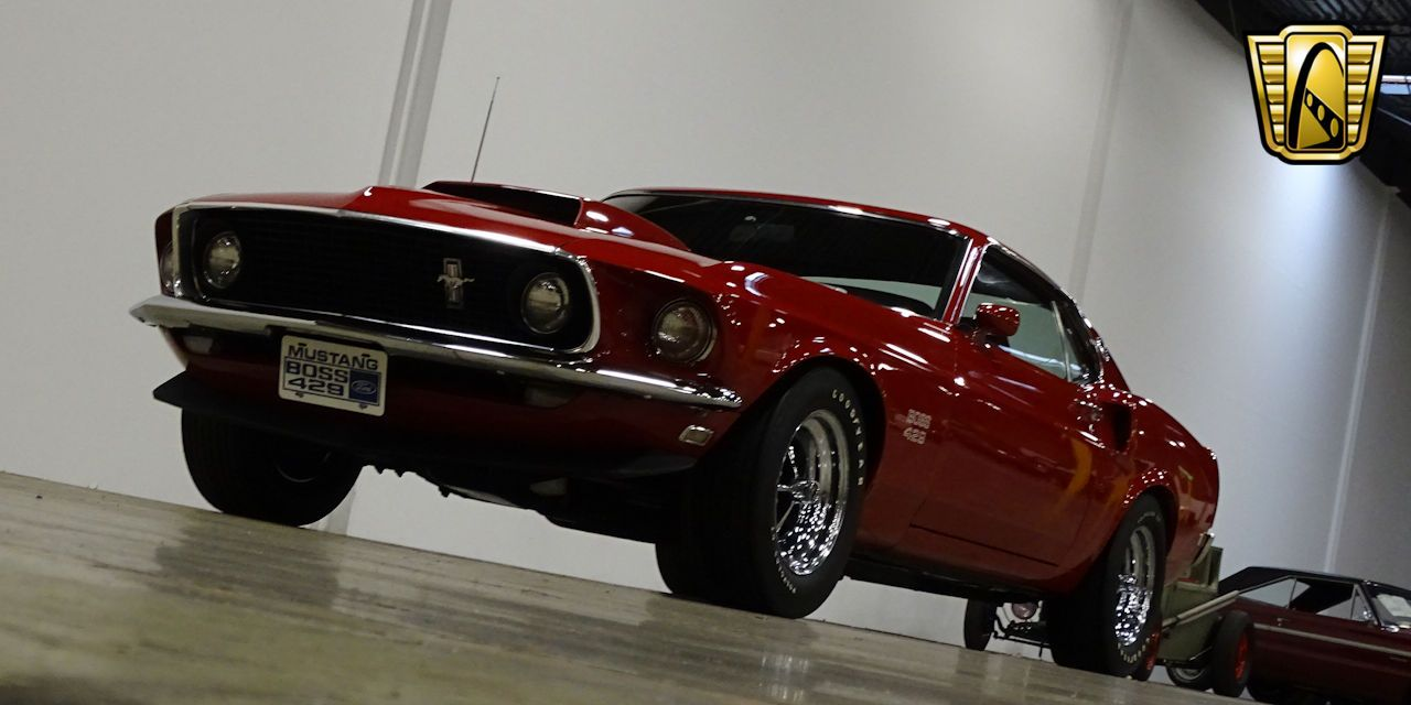 Mustang Boss 429 For Sale >> 1969 Ford Mustang Boss 429 Offered For Sale By Gateway
