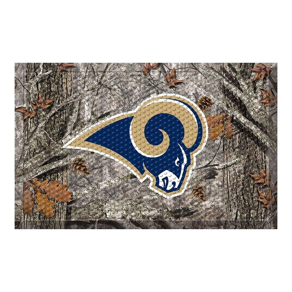 Los Angeles Rams NFL Scraper Doormat (19x30)
